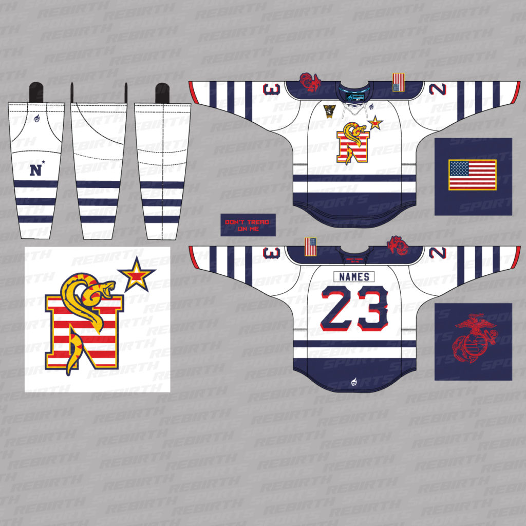 USNA 89 Hockey Jersey